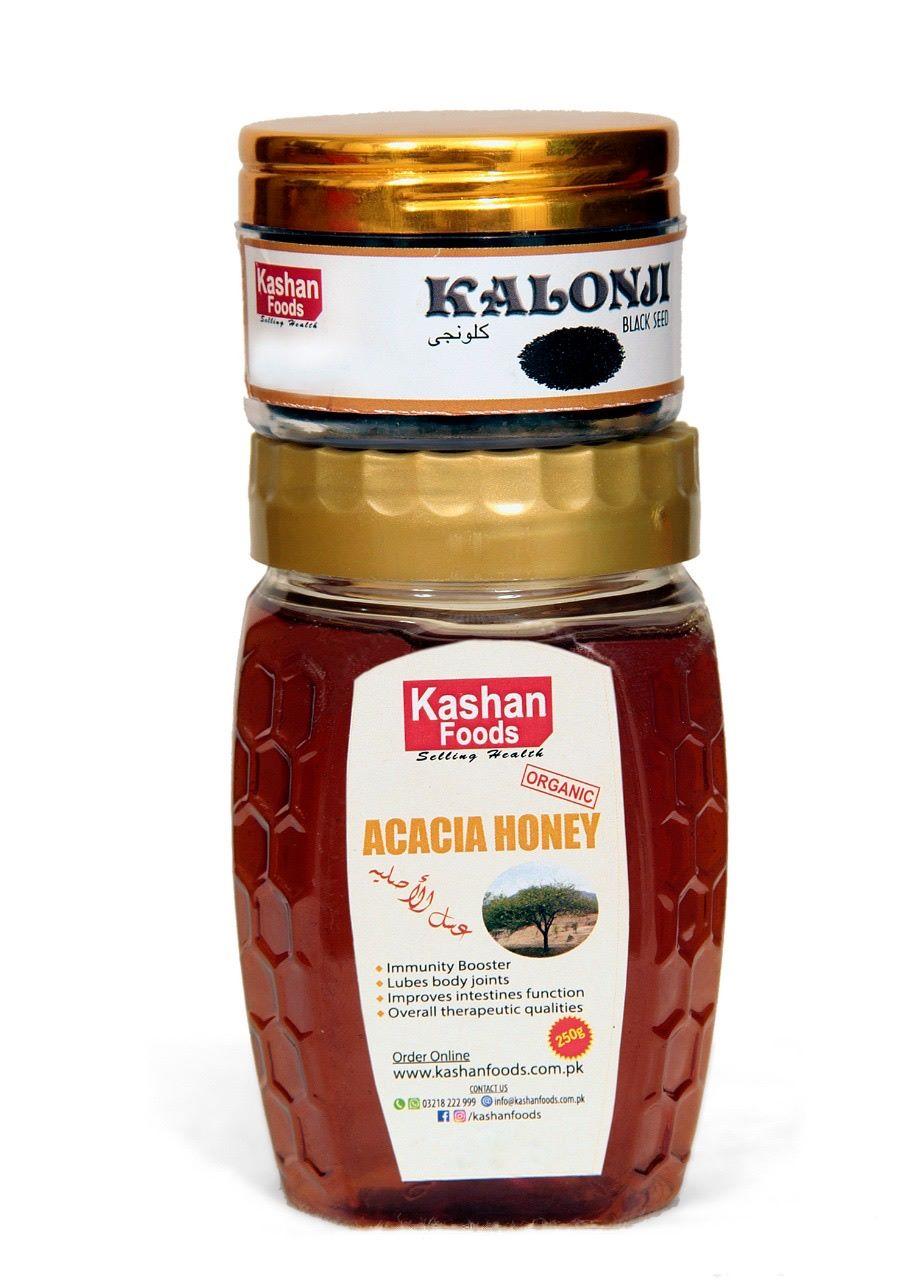 Acacia Honey + Kalonji
