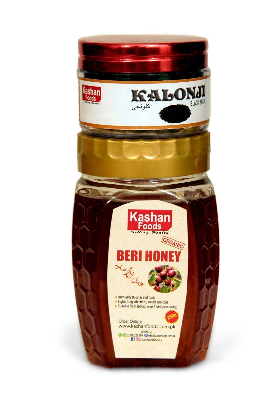 Beri Honey + Kalonji